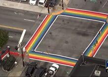 Atlanta marks Pride month & Pulse anniversary with permanent rainbow crosswalks