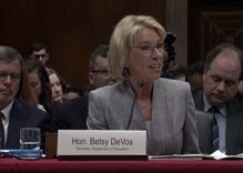 Watch Betsy DeVos refuse to protect LGBTQ students from discrimination again