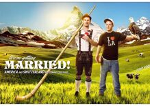 An engagement photo for a Swiss/American couple is the best thing online today