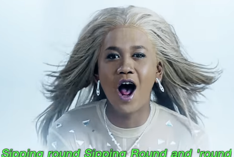 Thai drag queen performs as Britney in 'Toxic' spoof