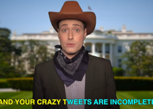 Randy Rainbow does Broadway medley for 'covfefe'
