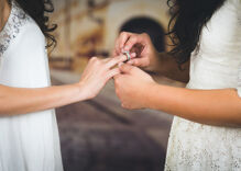 Nearly a third of lesbian couples are rejected or have problems with wedding vendors