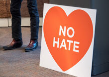Hate crimes are on the rise in California for the second consecutive year
