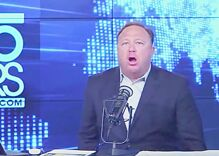 Alex Jones claims gay people are deliberately infecting each other with HIV in 'Satanic' plot