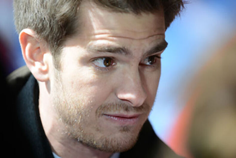 Andrew Garfield says he's gay 'without the physical act' & gay Twitter explodes