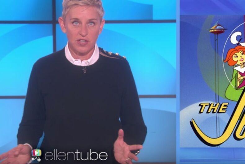 Ellen DeGeneres deconstructs popular children's TV shows