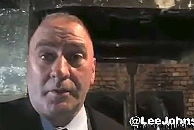 What this congressman did when he visited Auschwitz is unbelievable