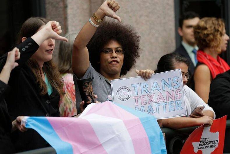 Texas trans bathroom bill