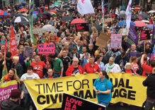 Thousands march for marriage in Northern Ireland