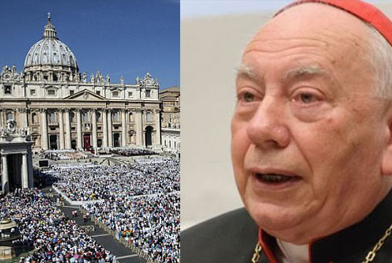 Vatican police raid 'drug-fueled gay orgy' in cardinal's apartment