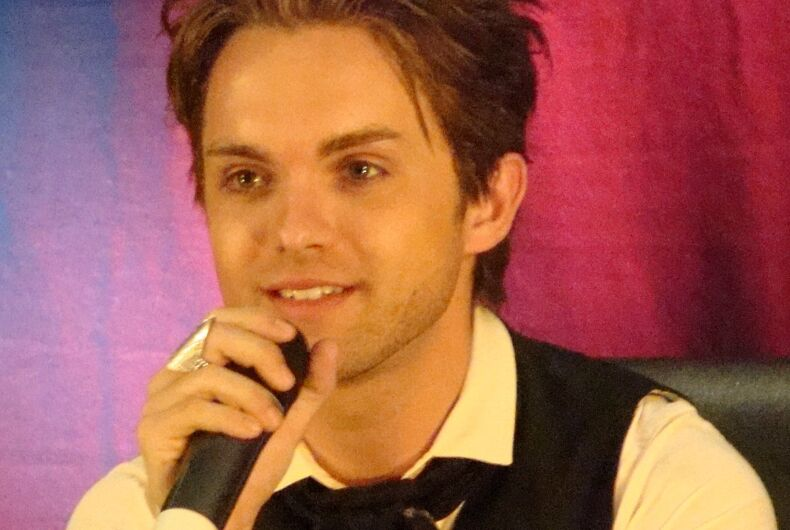 Outed 'Heroes' star Thomas Dekker confirms that he's gay