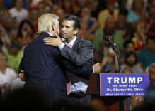 Trump calls his son 'a high-quality person' & Twitter begs to differ