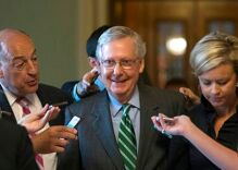 Mitch McConnell will keep Senate past recess as GOP works to repeal Obamacare