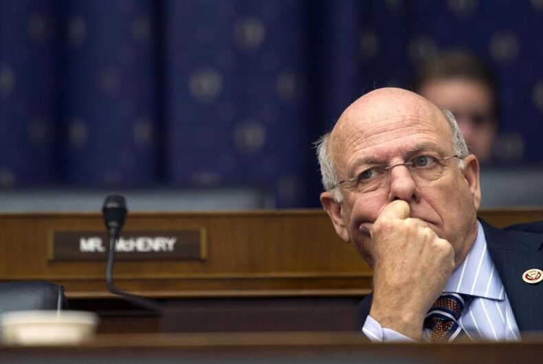 GOP congressman insults people with HIV by condemning 'polymorphous' marriages