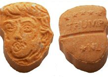Police seize 5,000 ecstasy pills shaped like Donald Trump
