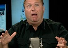 Alex Jones' rant about transgender people may be his most unhinged yet