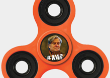 You can buy a Steve Bannon fidget spinner from Breitbart now, but why would you?