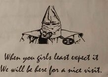 KKK threatens gay Florida political candidate with chilling message