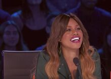 Laverne Cox was a guest judge on America's Got Talent & she hit the golden buzzer