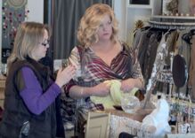 Watch shoppers come to the rescue of a trans woman being disrespected in a clothing store
