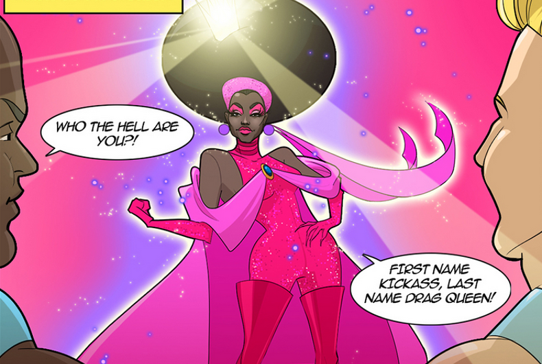Bob the Drag Queen is now a comic book hero who saves a Pocket Gay