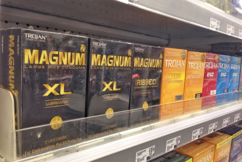 Is the 'family planning' aisle in drug stores homophobic?