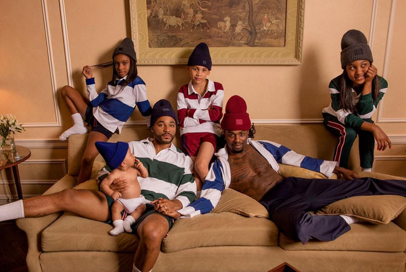 A family with two dads is the face of Acne's fall collection
