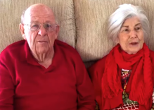 Dying grandpa proposes to his granddaughter's girlfriend in this must-see video