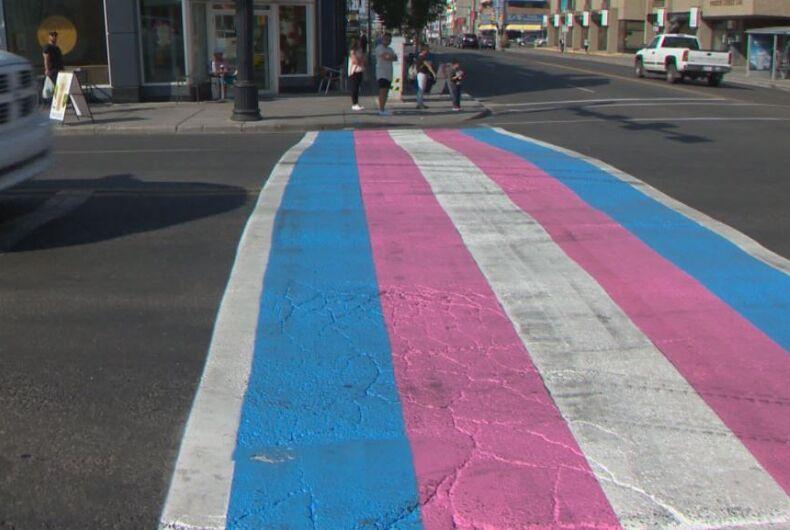trans crosswalk