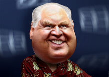 Rush Limbaugh flees the hurricane he claimed was a liberal 'deep state' conspiracy