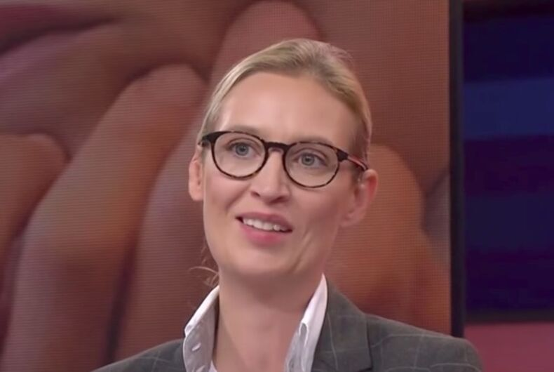 Lesbian politician Alice Weidel aims to bring racism back to Germany
