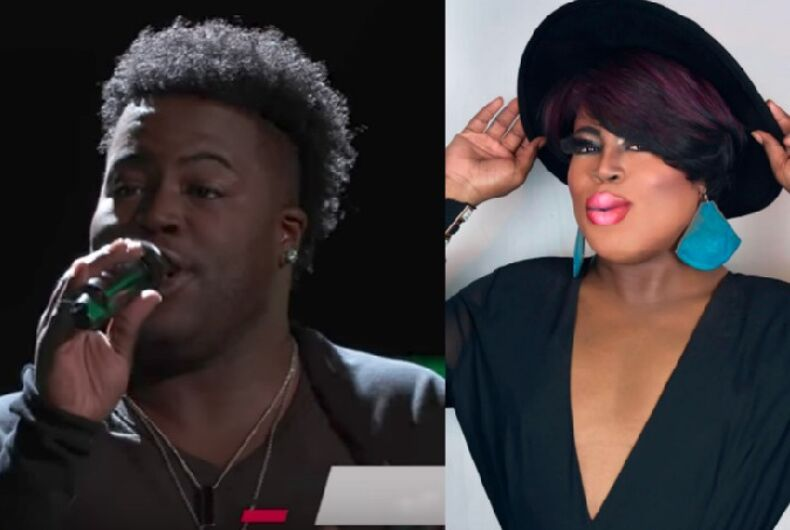 Watch this drag queen slay 'The Voice' judges