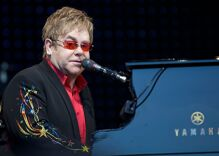 Elton John posts touching tribute to his husband in plea for marriage equality
