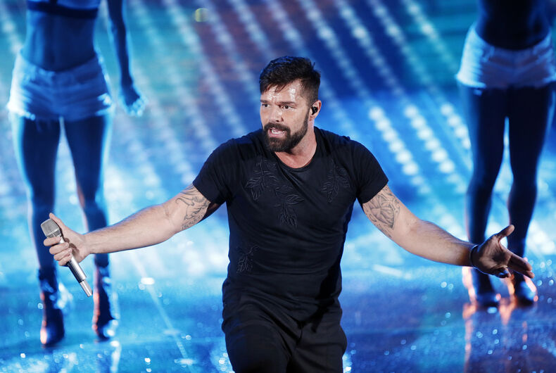 Ricky Martin launches crowdfunding relief effort for Puerto Rico hurricane victims