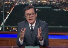 Stephen Colbert destroys 'the world's most powerful toddler'