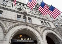 Log Cabin held a big shindig at Trump Hotel & no one would talk about Trump