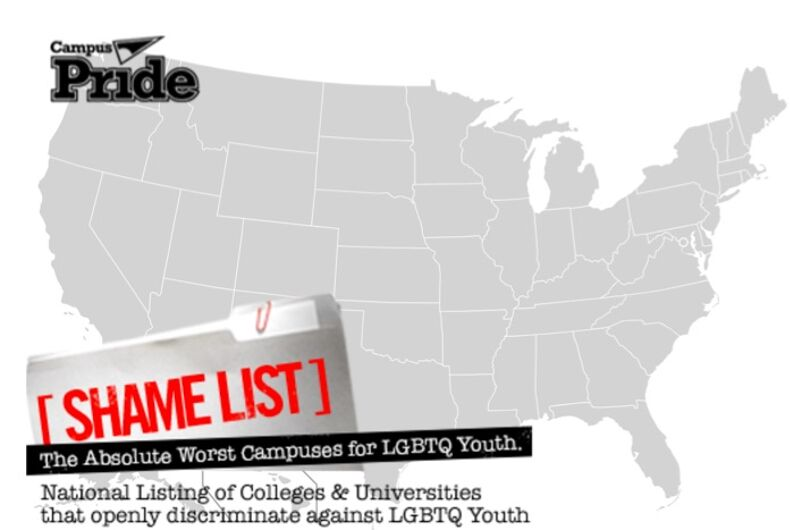 These shameful colleges are the absolute worst for LGBT students
