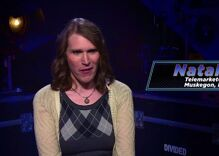 Transgender woman faces off against Trump supporter on new game show Divided