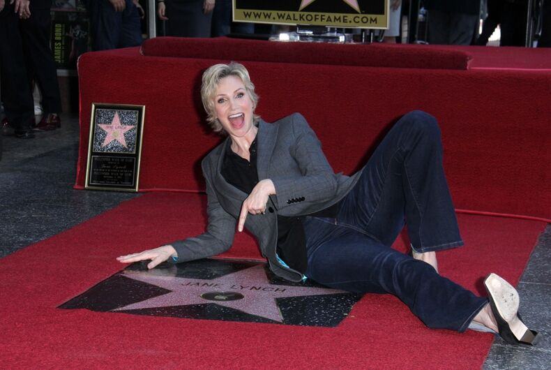 Jane Lynch will guest star in the 'Will & Grace' revival