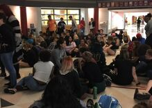 These high school students in Kansas staged a sit-in to stand up for trans people