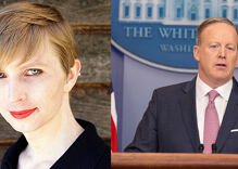 What do Chelsea Manning & Sean Spicer have in common?