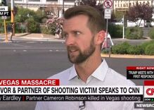 Gay man who lost his partner in Vegas mass shooting talks with Anderson Cooper