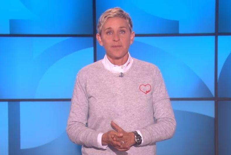 Ellen DeGeneres Las Vegas shooting