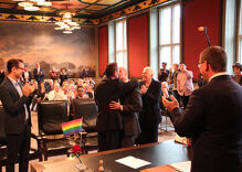 Watch as this gay couple becomes the first to marry in Germany