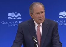 George W. Bush just read Trump for filth without ever dropping his name