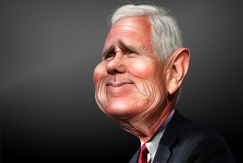 Pence spokesperson won't deny he 'wants to hang' all gay people