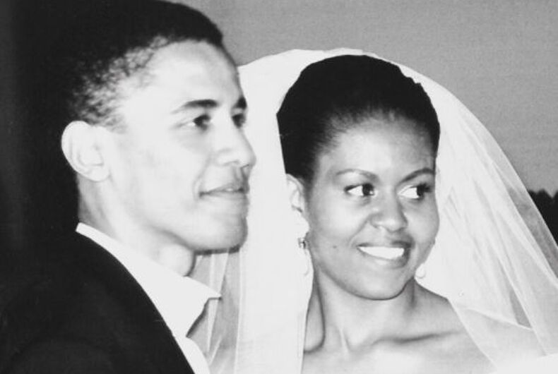 michelle barack obama wedding