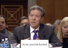 Republicans confirm Sam Brownback as 'Religious Freedom Ambassador'