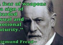 How the gun lobby turned a fake quote from Sigmund Freud into a rallying cry