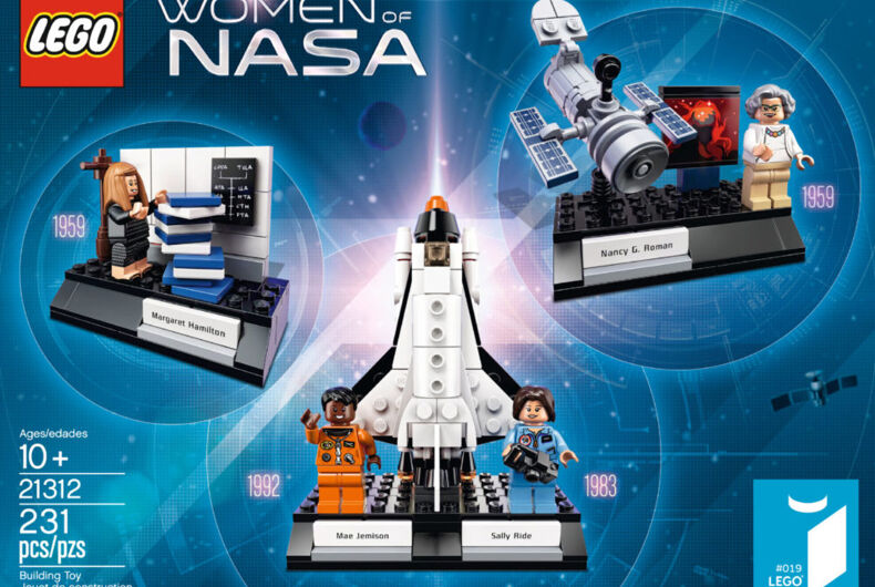 LEGO's new 'Women of NASA' set is perfect for today's political climate